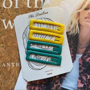 NWOT Anthropologie Hair Pins Set